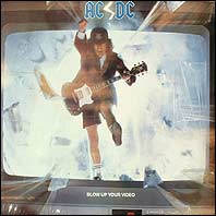 AC/DC - Blow Up Your Video (sealed vinyl record)