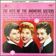 The Hits of the Andrews Sisters (vinyl)