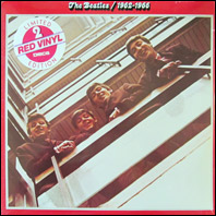 The Beatles 1962-1966 - 2-LP set on red vinyl