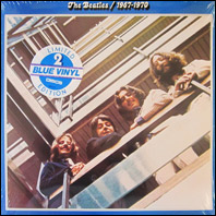 The Beatles 1967-1970 blue vinyl sealed