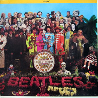 The Beateles - Sgt. Pepper's Lonely Hearts Club Band (original issue)