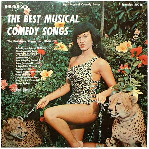 Greg S Grooves Vinyl Records For Sale Bettie Page