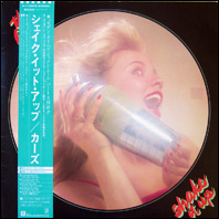 The Cars - Shake It Up - Japanese pressing