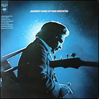 Johnny Cash at San Quentin (original vinyl)