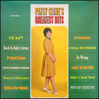Patsy Clin e's Greatest Hits (vinyl)