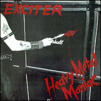 Exciter - Heavy Metal Maniac (original vinyl)