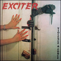 Exciter - Violence & Force (original vinyl)