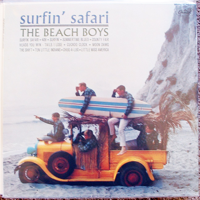 Beach Boys - Surfin' Safari mono reissue