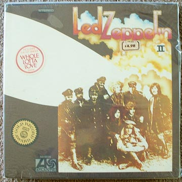 Led Zeppelin II original, sealed