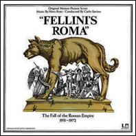 Fellini's Roma (sounddtrack on vinyl