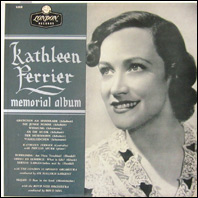 Kathleen Ferrier - Memorial ALbum (original vinyl)