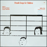 French Songs for Children  - Clouzot & Rousseau