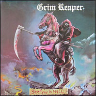 Grim Reaper - See You In Hell (original vinyl)