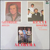 George Jones, Kenny Rogers And The First Edition & Alabama - sealed vinyl