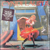 Cyndi Lauper - She's So Unusual (original vinyl)