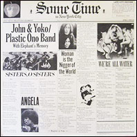John Lennon  / Plastic Ono Band - Some Time In New York City