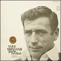 Yves Montand - Paris Recital