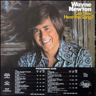Wayne Newston - Can't You Hear The Song? - promo album
