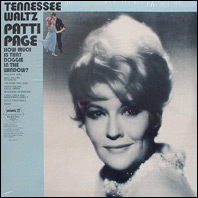 Patti Page - Tennessee Waltz - sealed vinyl