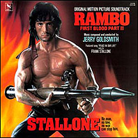 Rambo: First Blood Part II original soundtrack on vinyl