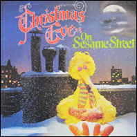 Christmas Eve On Sesame Street - original vinyl