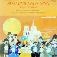 Sing Children Sing - Songs Of France
