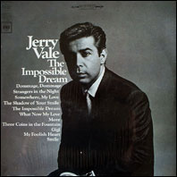 Jerry Vale - The Impossible Dream (sealed vinyl)