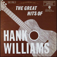 The Great Hits Of Hank Williams (2-LP set)