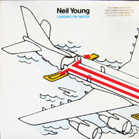 Neil Young - Landing On Water (original vinyl, promo)